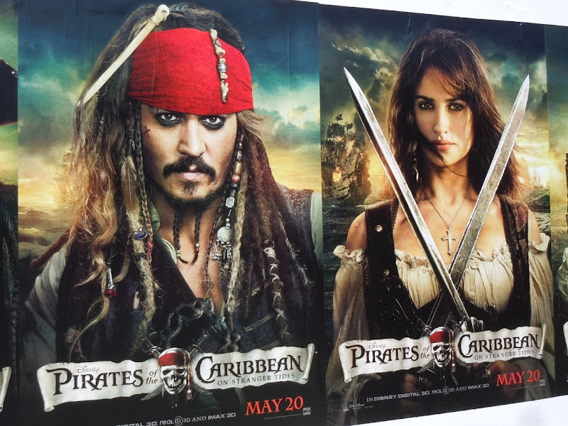 Pirates On Stranger Tides movie posters