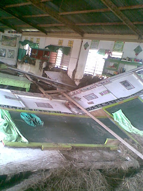 Typhoon Pablo left severe damages in Rantian Elementary School
