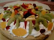 Fruitty Pavlova