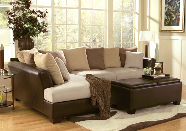Top celebrity fashion living rooms living room sets for Family room sofa sets