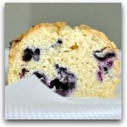 Bluebery Streusel Pound Cake