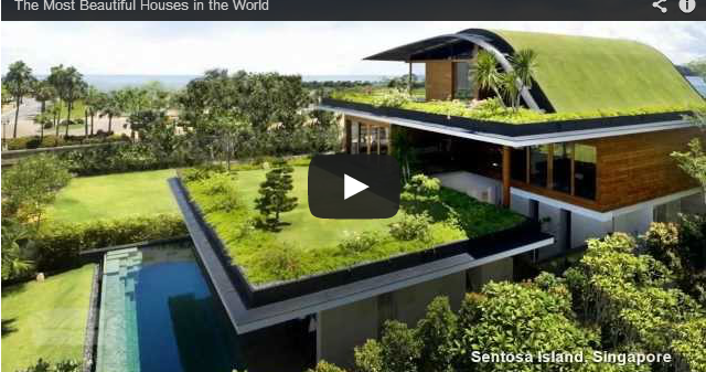 The most beautiful houses in the world for World no 1 beautiful house