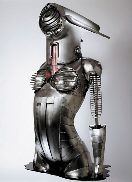 Doctor Ojiplático. Greg Brotherton. Escultura SteamPunk