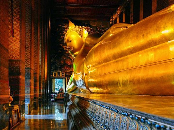 Wisata ke bangkok thailand lokasi patung budha tidur di what po