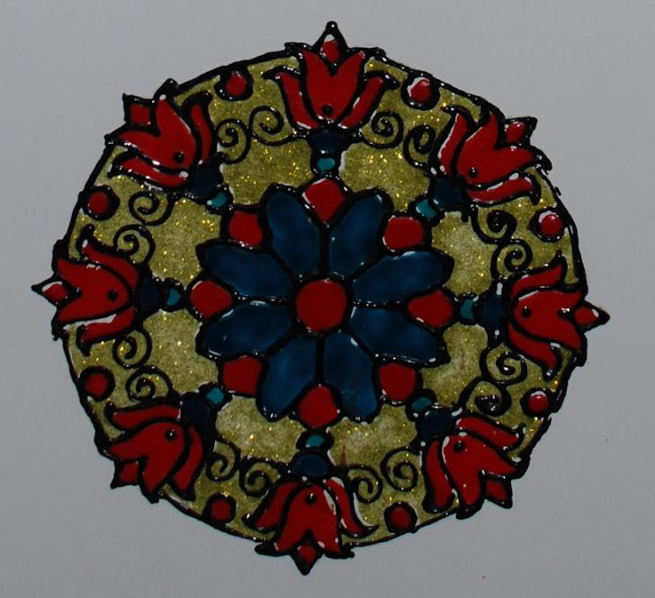 Tulipános Mandala