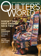 Quilter&#39;s World Dec 2011