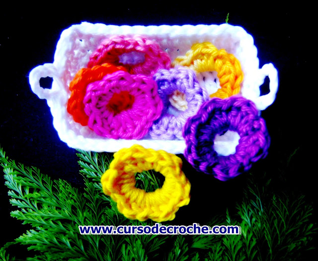 flores em croche cursodecroche aprendercroche edinir-croche dvd