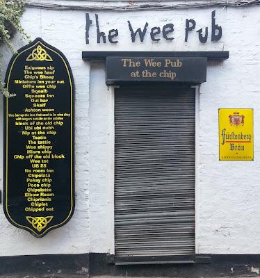 Wee Pub, Ubiquitous Chip, Glasgow