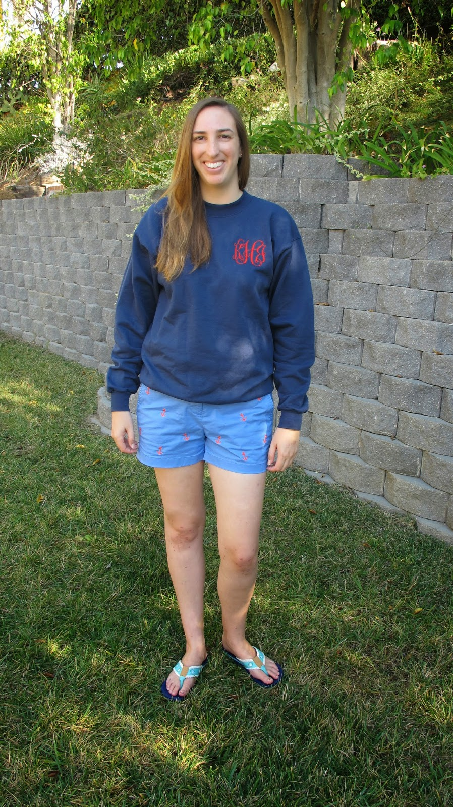 Nautical by Nature | Monogrammed Lobster Sweatshirt from Tiny Tulip