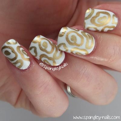 spangley nails  uk nail art blog scratch sundrops drops