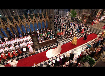 Royal Prince William and Kate Middleton marriage Hall photos