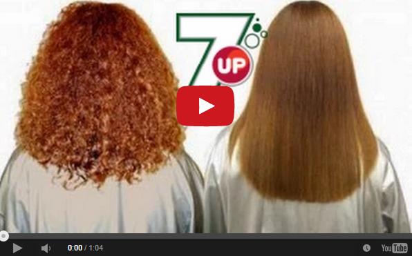بالفيديو خلطة جديدة لتنعيم الشعر المجعد بالسفن أب
