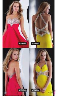 Vestido Sexys 2 tonos para Fiesta Fin de Año 2012
