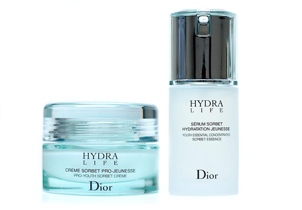 dior hydra life creme serum sorbet avis test