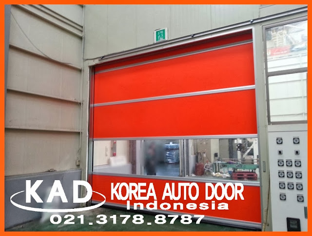 High Speed Door installation in Factory