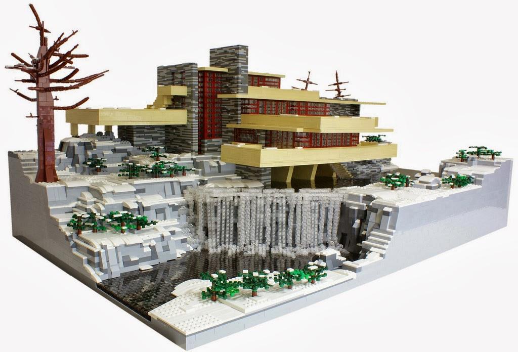 Moi aussi j 39 ai une maison marie claire des legos pour for Architecture de la maison blanche