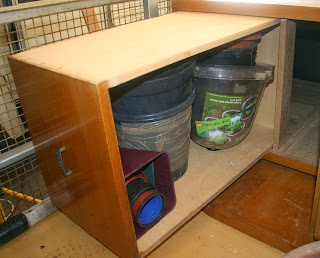 Loose stuff in the drawers