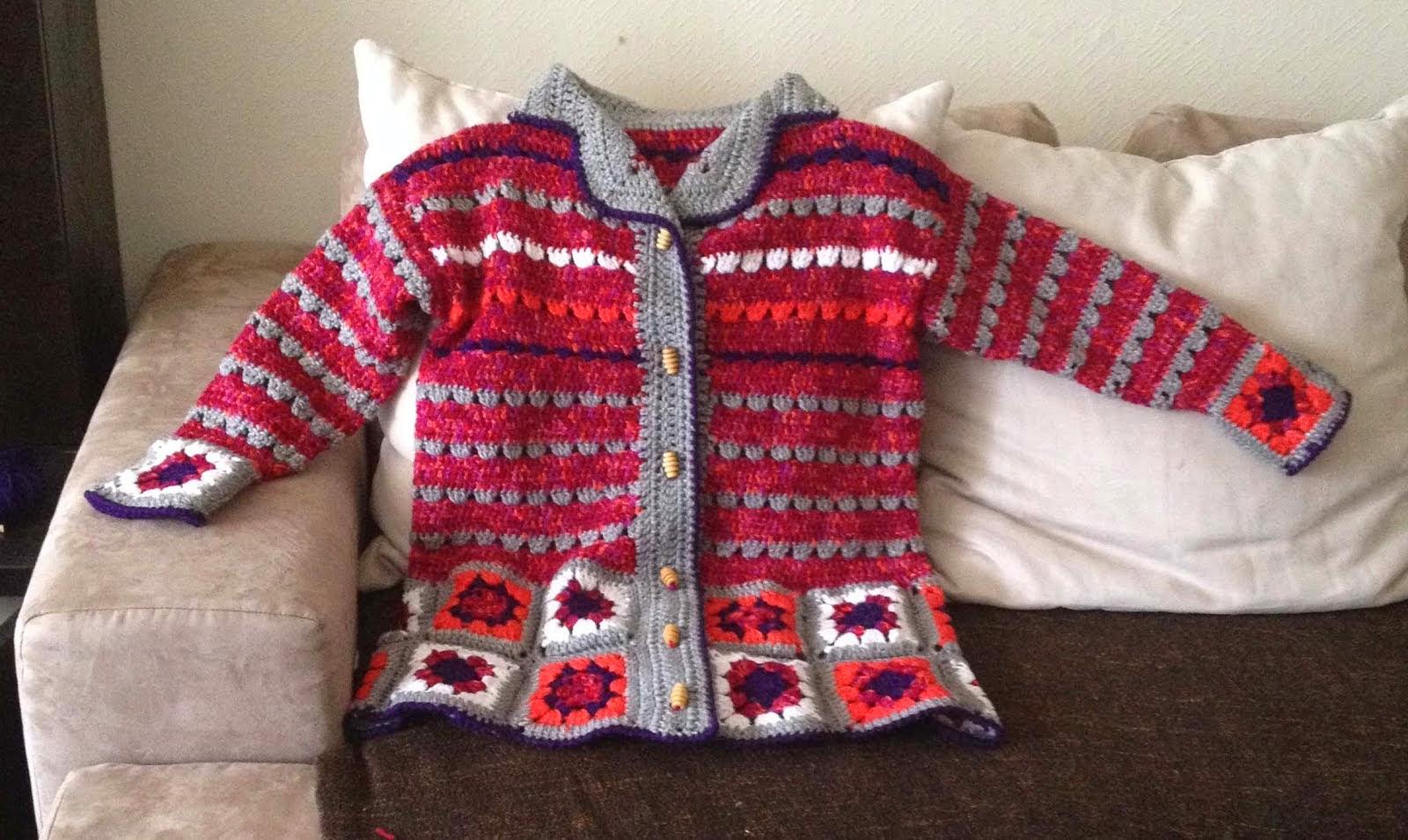 Saco al crochet