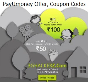 Free Rs.100 Movie Voucher on Signup and Refer and Earn