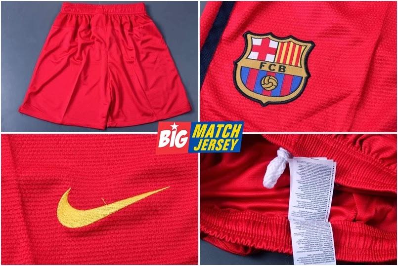 Katalog celana short grade ori barcelona away official 2013 2014