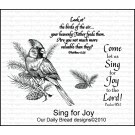 "Our Daily Bread designs ""Sing For Joy"""