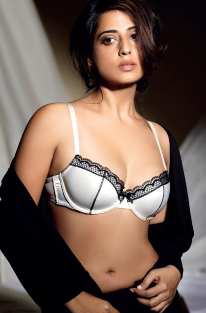 Mahie Gill hot Photoshoot bikini bra Maxim India October 2012