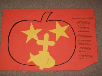 Living a special kind of life the christian pumpkin for Christian christmas crafts for preschoolers