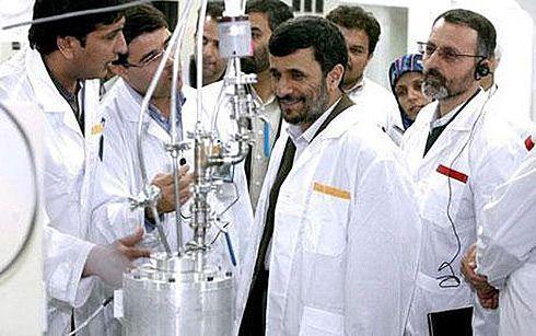 Bersama ilmuwan Iran