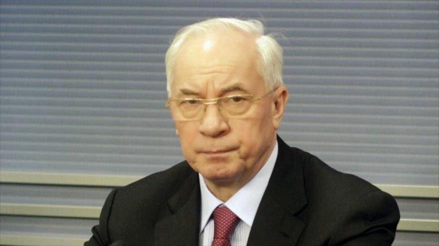 Azarov: Embajada de EEUU ideó el guión de golpe en Ucrania