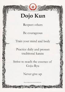 IOGKF DOJO-KUN