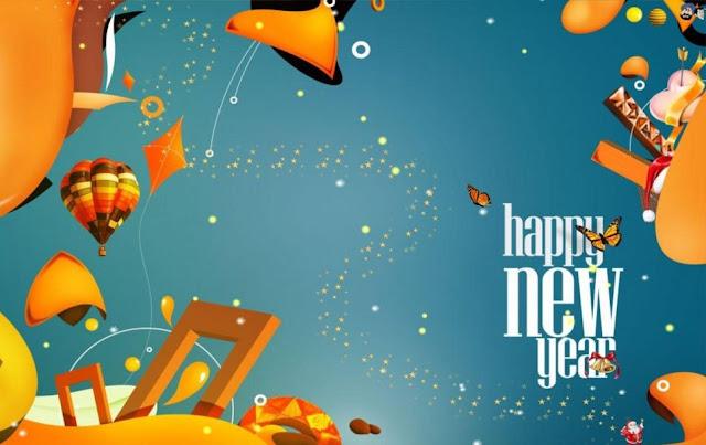 Download HD Happy New Year Celebration Wallpaper