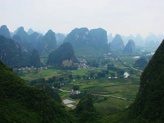 Guilin of hundreds of hills