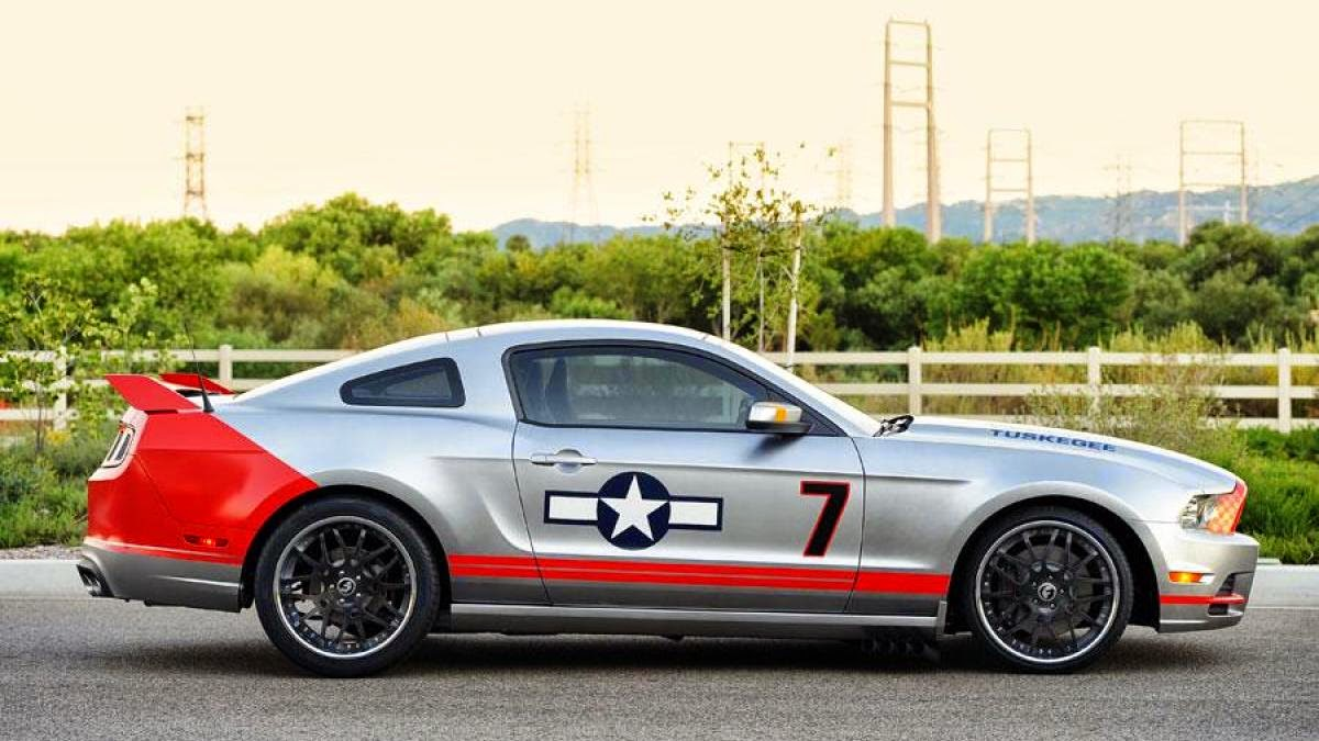Red Tails Mustang joins auction at AirVenture Oshkosh