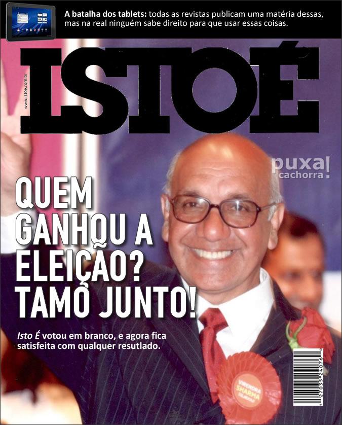 Revistas com capas realistas Istoe_sincera