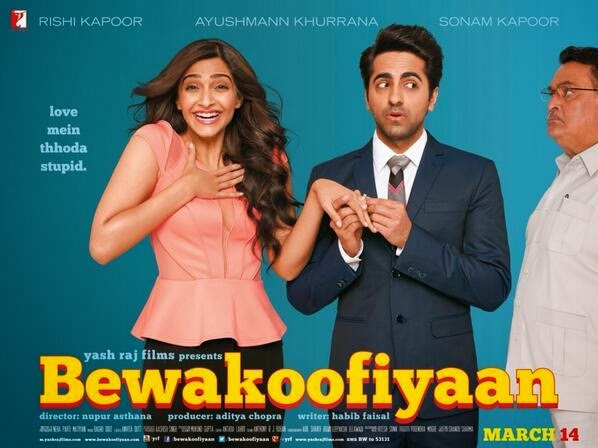 Sonam's  Bewakoofiyaan First Look Poster