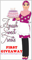APASH SWEET TREATS: FIRST GIVEAWAY 10.10.11