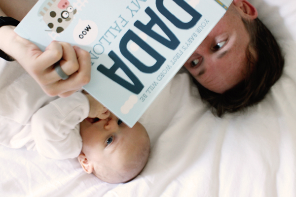 A Man's POV: The First Three Months of Dadhood