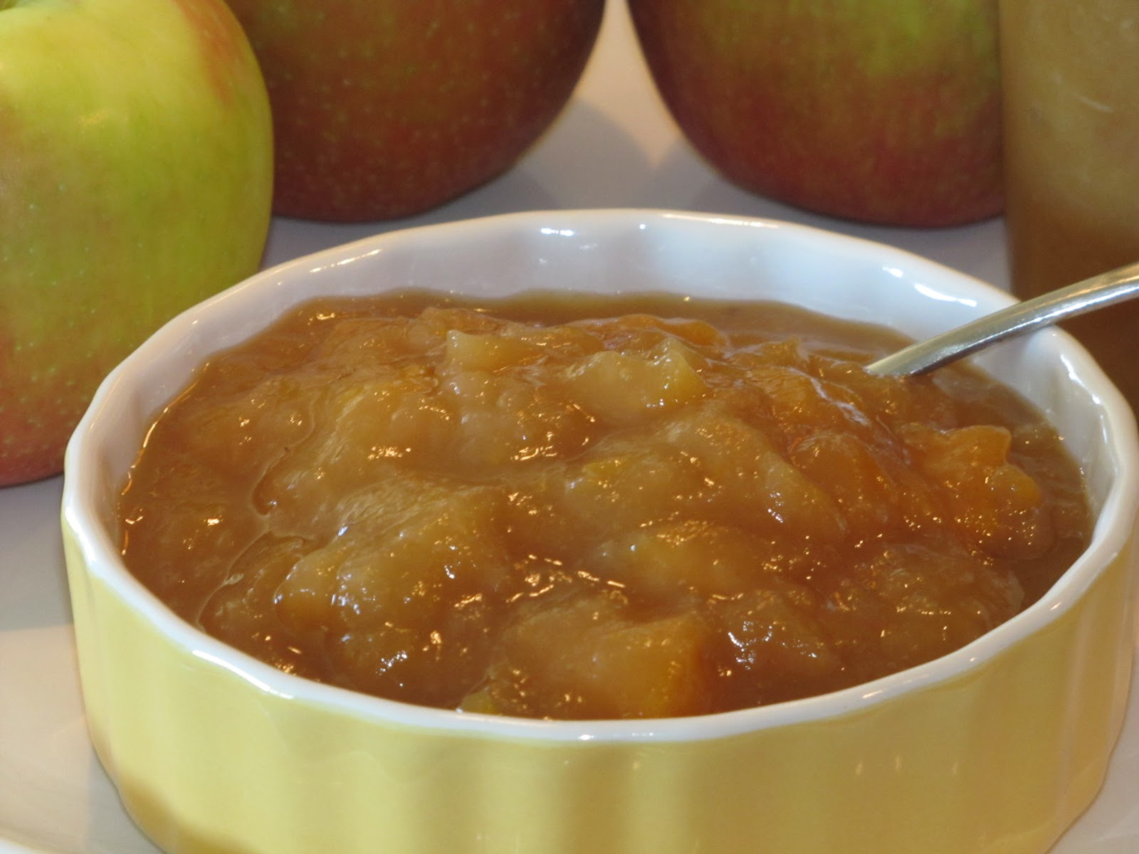 Crock Pot Applesauce - Crumbs and Chaos