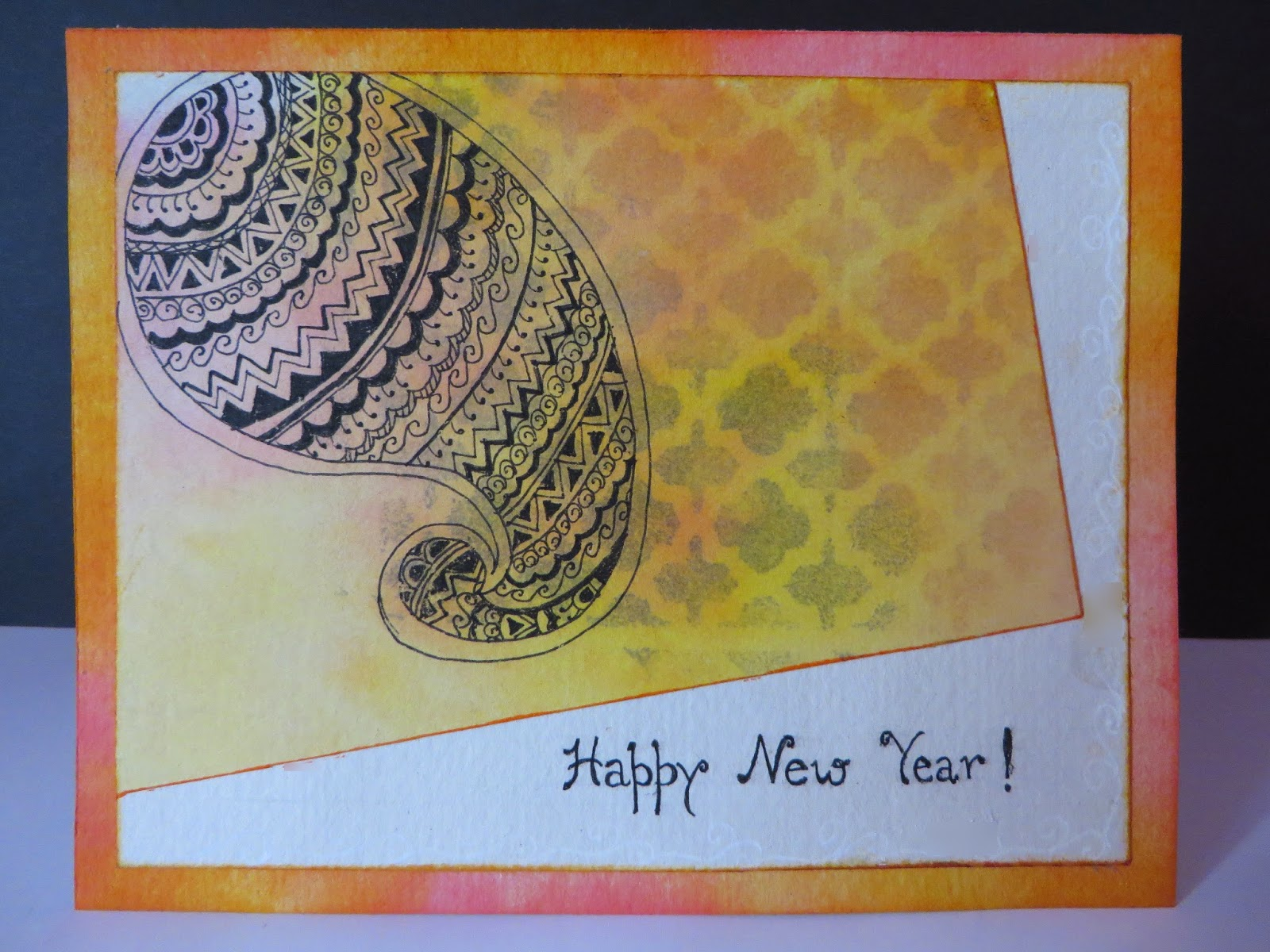 Craft Concoction Henna Design Card