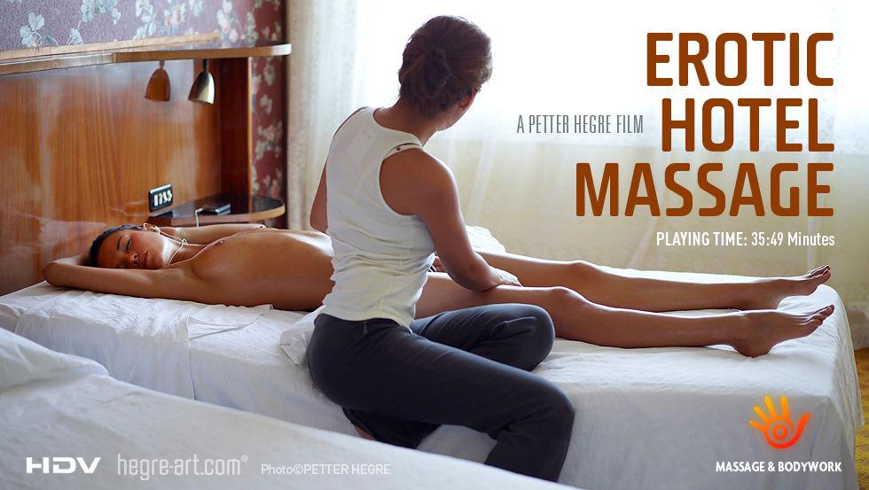 эротический масаж всего тела в отеле