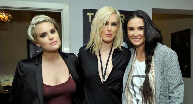 Demi Moore: Like mother, like daughters 1