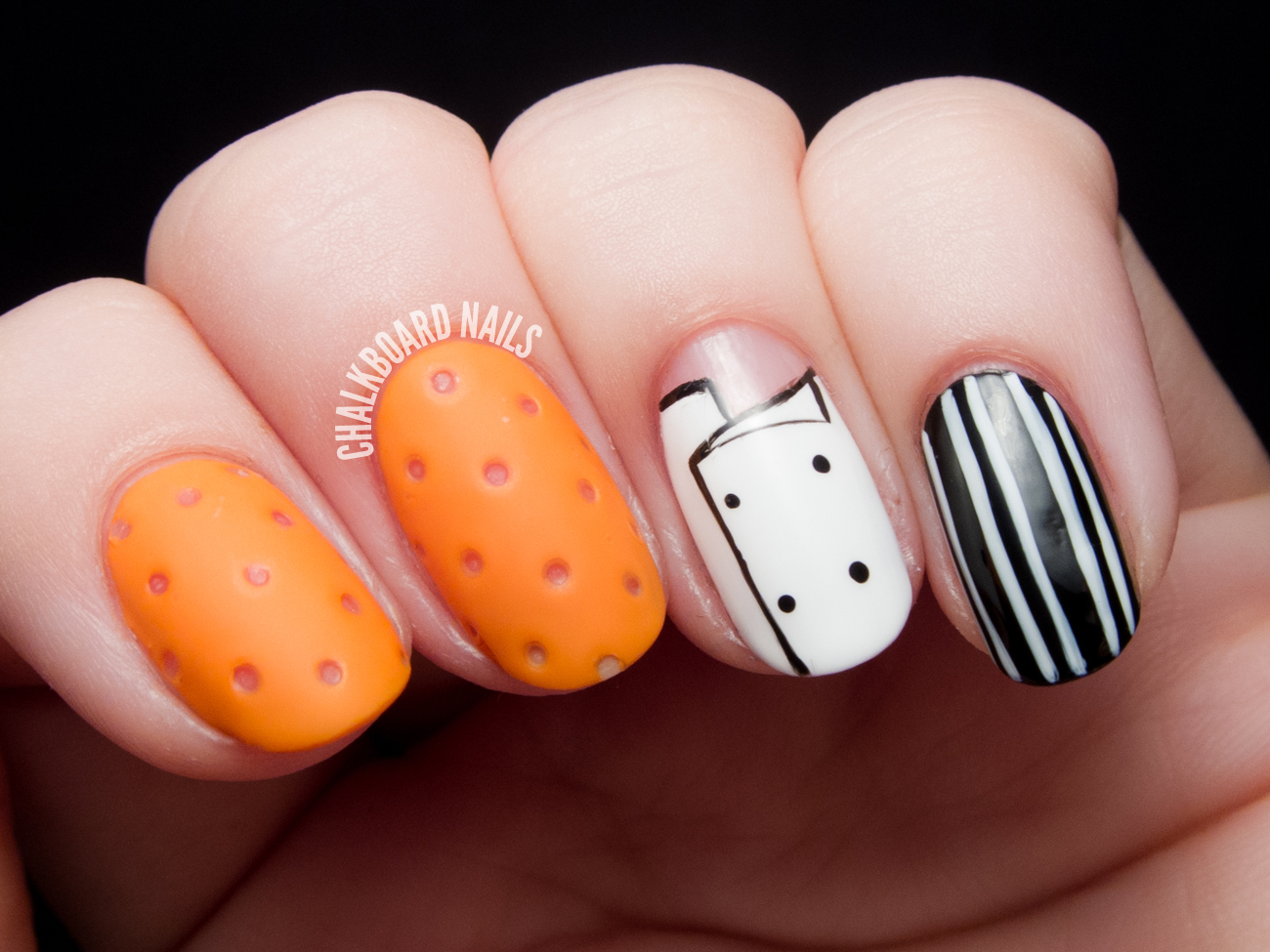Photo Jobs Mario Batalis Orange Crocs Nail Art