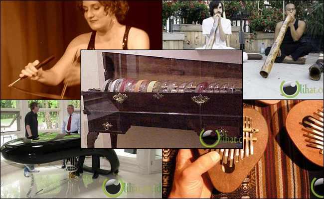 7 Jenis Alat Musik yang paling Terunik dan Teraneh di Dunia