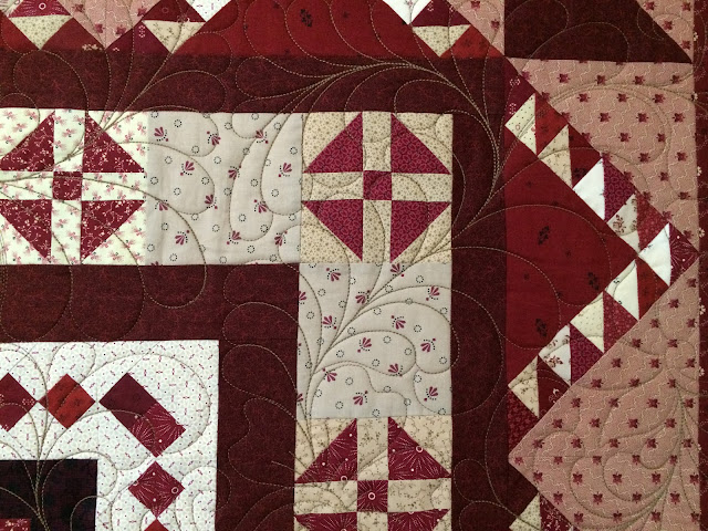 B & B Quilt Shop's Block of the Month Quilt