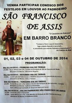 EM BARRO BRANCO SÃO FRANCISCO DE ITABAPOANA RJ