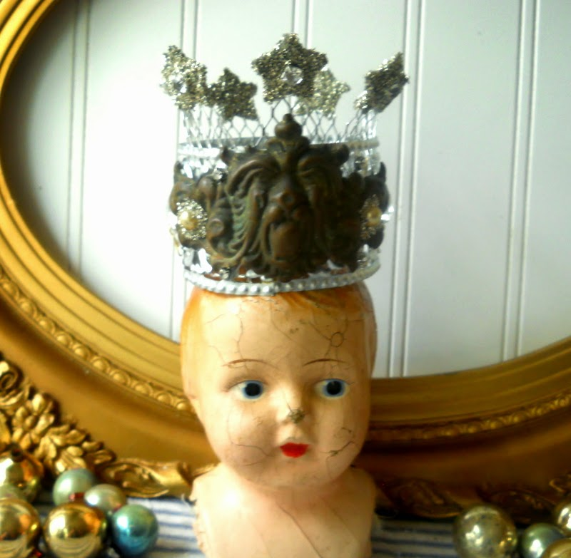 hope and joy home new projects upcycled metal santos crowns