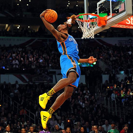 Slam Dunk: Serge Ibaka Slam Dunk Widescreen