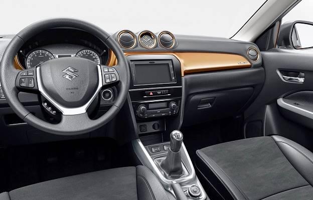 2016 Suzuki Grand Vitara Interior