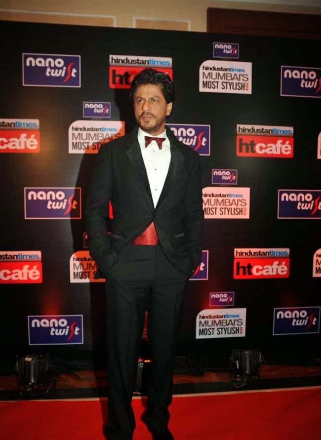 Shahrukh Khan at Most Stylish Awards 2014