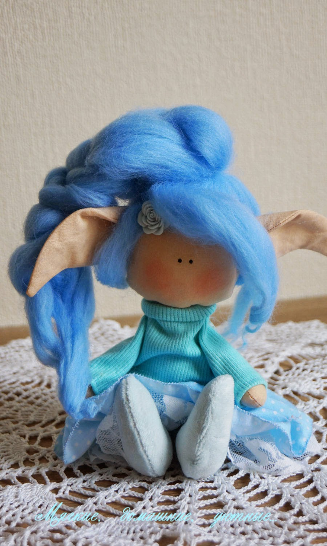 подарок девочке, текстильная кукла